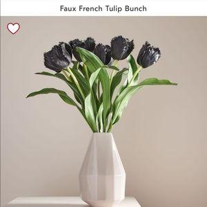 West Elm Faux Tulip Bunch (NO vase)